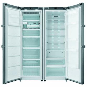 Congelador Vertical Edesa EZS-1822 NF EX/A 1 Puerta | Luz LED | No Frost | 1855 x 595 x 685 mm - 3