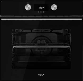 Horno Teka HLB 8400 de 60 cm en Cristal Negro A+ con 9 funciones de cocción a 5 alturas