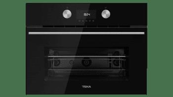 TEKA MLC 8440 BK Microondas Compacto + Grill | Cristal Negro 45cm