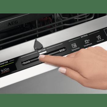 Lavavajillas Integrable AEG FSE83807P 60cm Inverter MYTIME ComfortLift AirDry SoftGrips 13 cubiertos 42dB A+++ - 5