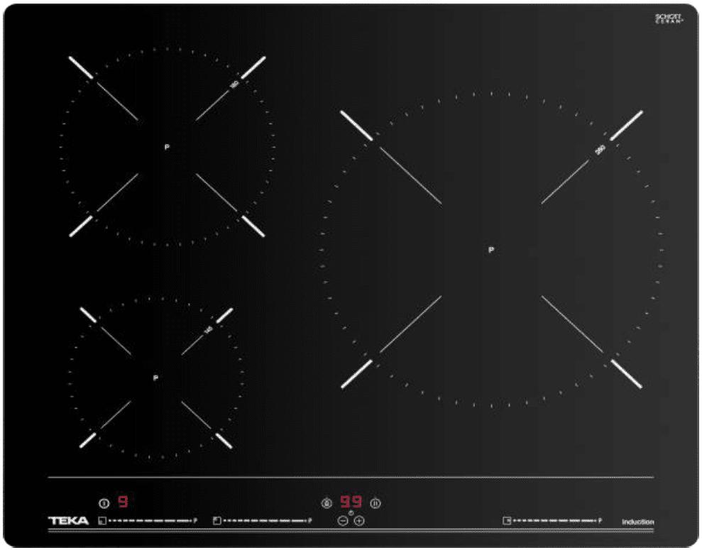Inducción Teka IBC 63010 3 Zonas 28cm   ref. 112520006 -