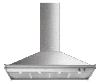SMEG KD120HXE Campana Decorativa de Pared 120 cm | Estética Clásica | Acero Inoxidable | A+
