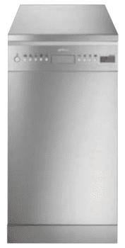 SMEG LSA4525XIN Lavavajillas Libre Instalación 45 cm | Acero Inoxidable  | 10 Servicios | A++ | Envío Gratis