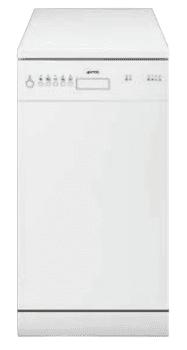 SMEG LSA4511BIN Lavavajillas Libre Instalación 45 cm | Color Blanco  | 10 Servicios | A+ | Envío Gratis