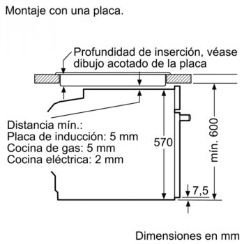 Bosch HBG579BS0 Horno Multifunción Pirolítico de 60 cm en Acero Inoxidable | A | Serie 6 - 9