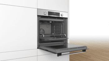 Bosch HBA5360S0 Horno Multifunción de 60 cm en Acero Inoxidable | A | Serie 6 - 4