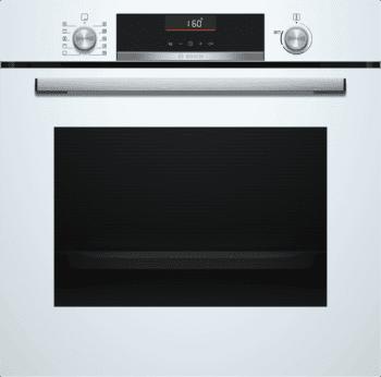 Horno Bosch HBA5360W0 Blanco de 60 cm con 10 recetas pre-programadas Gourmet y calentamiento 3D Profesional | Clase A | Serie 6/STOCK