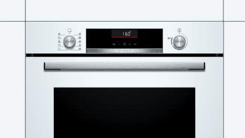 Horno Bosch HBA5360W0 Blanco de 60 cm con 10 recetas pre-programadas Gourmet y calentamiento 3D Profesional | Clase A | Serie 6 | Stock - 2