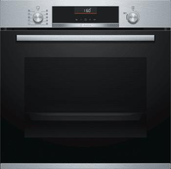 Bosch HBB536BS0 Horno Multifunción 60 cm en Acero Inoxidable | Puerta Extraíble | A | Serie 6