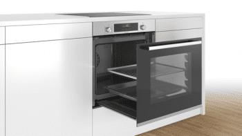 Bosch HBB536BS0 Horno Multifunción 60 cm en Acero Inoxidable | Puerta Extraíble | A | Serie 6 - 4