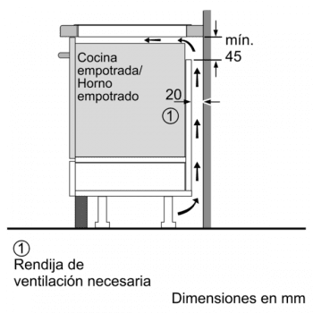 Bosch PVS651FC5E Placa Inducción 60 cm color Negro con 4 Zonas de Inducción   Serie 6 - 7