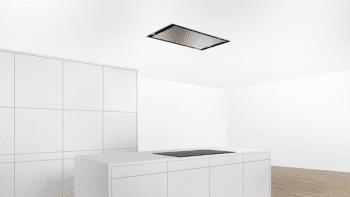 Campana de Techo Bosch DRC96AQ50 en Acero Inoxidable, de 90 cm a 734 m³/h | Control Placa-Campana | Wifi Home Connect | B | Serie 6 - 1