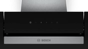 Campana decorativa de pared Bosch DWK87EM60 en Cristal Negro de 80 cm a 669 m³/h | B | Serie 2 - 3