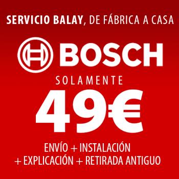 Bosch WAX32EH0ES Lavadora Carga Frontal | 10 Kg 1600 rpm | I-Dos | Pausa + Carga | WiFi HomeConnect | A+++ -30% - 3