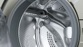 Bosch WAN2427XES Lavadora Carga Frontal 60 cm Acero Mate Antihuellas | 7 Kg 1200 rpm | Pausa + Carga | A+++ -10% | Serie 4 - 4