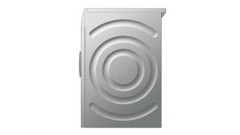 Bosch WAN2427XES Lavadora Carga Frontal 60 cm Acero Mate Antihuellas | 7 Kg 1200 rpm | Pausa + Carga | A+++ -10% | Serie 4 - 5