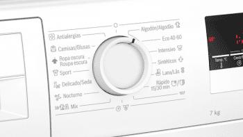 Bosch WAN24263ES Lavadora Carga Frontal 60 cm Blanca | 7 Kg 1200 rpm | Pausa + Carga | A+++ -10% | Serie 4 - 4