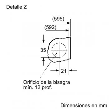 Bosch WIW28301ES Lavadora Integrable Blanca 8 kg 1400 rpm | Pausa + Carga | A+++ -20% | Serie 6 - 7