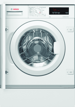 Bosch WIW24305ES Lavadora Integrable Blanca 8 kg 1200 rpm | Pausa + Carga | A+++ -20% | Serie 6