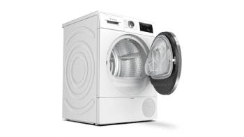 Secadora Bosch WTU87RH1ES Blanca de 8kg | Bomba de calor | WiFi Home Connect | A+++ | Serie 6