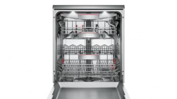 Bosch SMS88UI36E Lavavajillas 60 cm en Acero Inoxidable | Secado mediante Zeolitas | 13 servicios | WiFi HomeConnect | A+++ -10% - 3