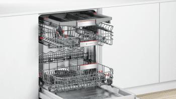Bosch SME68TX26E Lavavajillas Integrable de 60 cm | Secado mediante Zeolitas | 14 servicios | WiFi HomeConnect | A+++ -10% - 4