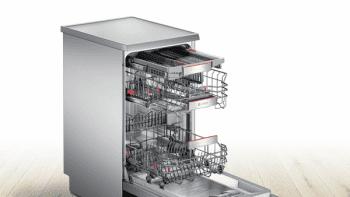 Bosch SPS66TI00E Lavavajillas Libre Instalación 45 cm Acero Inoxidable Antihuellas | 10 Servicios | A++ - 4