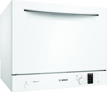 Lavavajillas Compacto Bosch SKS62E32EU Blanco de 55 cm, para 6 servicios | Motor EcoSilence Clase A+ | Serie 4