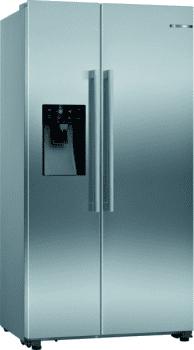 Bosch KAD93VIFP Frigorífico Americano Inox | Dispensador agua y hielo | Clase F | Serie 6 | Envío + Instalación Gratis