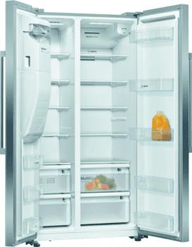Bosch KAD93VIFP Frigorífico Americano Inox | Dispensador agua y hielo | A+ | Serie 6 | Envío + Instalación Gratis - 2