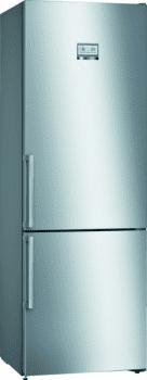 Bosch KGN49AIEP Frigorífico combi en Acero Inoxidable Antihuellas | 203 x 70 cm | No Frost | A++ | Serie 6