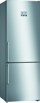 Bosch KGN49AIEP Frigorífico combi en Acero Inoxidable Antihuellas | 203 x 70 cm | No Frost | Clase E | Serie 6
