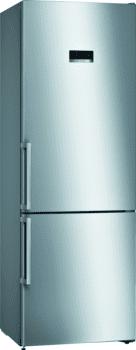 Bosch KGN49XIEP Frigorífico combi en Acero Inoxidable Antihuellas | 203 x 70 cm | No Frost | A++ | Serie 4