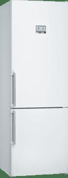 Bosch KGN49AWEP Frigorífico combi en color Blanco | 203 x 70 cm | No Frost | A++ | Serie 4