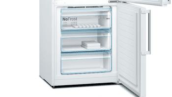 Bosch KGN49AWEP Frigorífico combi en color Blanco | 203 x 70 cm | No Frost | A++ | Serie 4 - 4