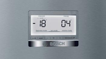 Bosch KGN39AIDP Frigorífico combi en Acero Inoxidable Antihuellas | 203 x 60 cm | No Frost | D | Serie 6 - 3