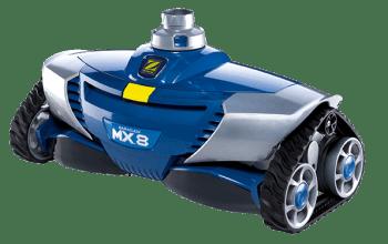 Robot Limpiafondos de Piscinas Zodiac MX8 Poolcare con Manguera ¡Envío Gratis! | Stock