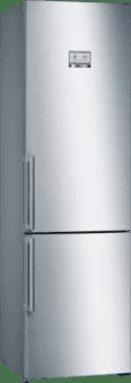 Bosch KGN39AIEP Frigorífico combi en Acero Inoxidable Antihuellas | 203 x 60 cm | No Frost | Clase E | Serie 6