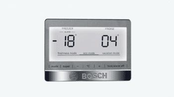 Bosch KGN39AWEP Frigorífico combi en color Blanco | 203 x 60 cm | No Frost | Clase E | Serie 6 - 4