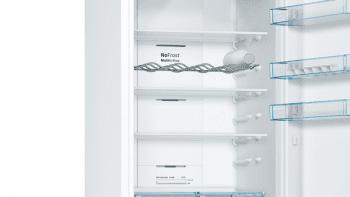 Bosch KGN39XWDP Frigorífico combi en color Blanco | 203 x 60 cm | No Frost | Clase D | Serie 4 - 4