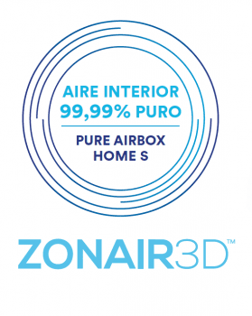 Daitsu Purificador Filtro Hepa Aire Zonair 3D Home S-300 Airbox Home 300m3 - 3