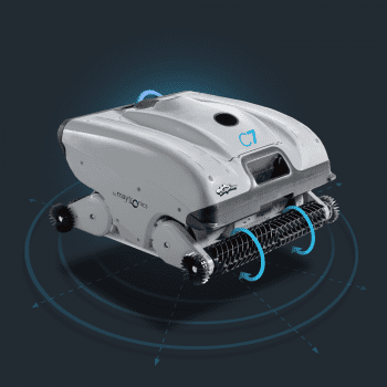 Robot Limpiafondos Piscina Pública Maytronics Dolphin C7 - 2