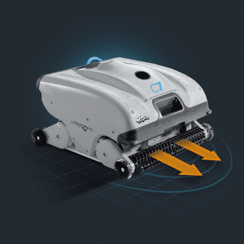 Robot Limpiafondos Piscina Pública Maytronics Dolphin C7 - 4