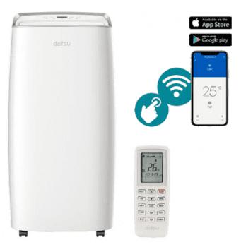 Aire Acondicionado Portátil Daitsu APD-12HX | Referencia 3NDA0099 | Wifi | Frío+Calor A+ | 3NDA0099 | Stock