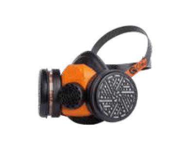 Mascarilla de gas boca modelo 820   2 Filtros   Envío Gratis -