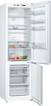 Frigorífico Combi Bosch KGN39VWDA en color Blanco de 203 x 60 cm No Frost Inverter | Clase D | Serie 4 - 2