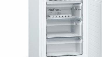Frigorífico Combi Bosch KGN39VWDA en color Blanco de 203 x 60 cm No Frost Inverter | Clase D | Serie 4 - 5