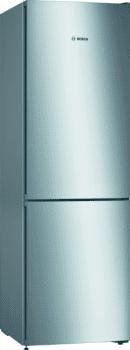 Frigorífico Combi Bosch KGN36VIDA en Acero Inoxidable Antihuellas de 186 x 60 cm No Frost Inverter | Clase D | Serie 4