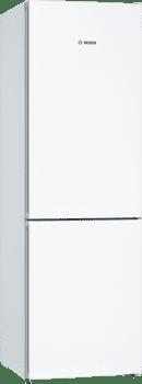 Frigorífico Combi Bosch KGN36VWDA Blanco de 186 x 60 cm No Frost Inverter A+++ | Serie 4