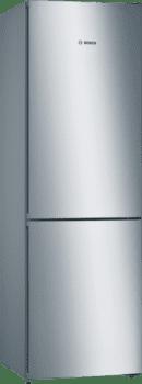 Frigorífico Combi Bosch KGN36VIEA Inox antihuellas de 186 x 60 cm No Frost A++ | Serie 4